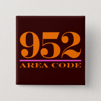 Area Code 952 Button