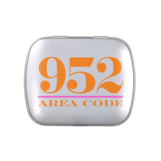 Area Code 952 Candy Tins