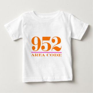 Area Code 952 Infant T-shirt