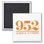 Area Code 952 Magnets