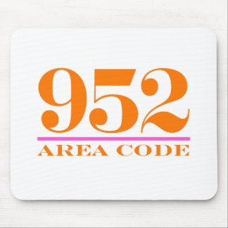 Area Code 952 Mouse Pad