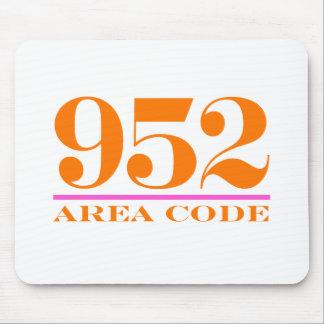 Area Code 952 Mousepad