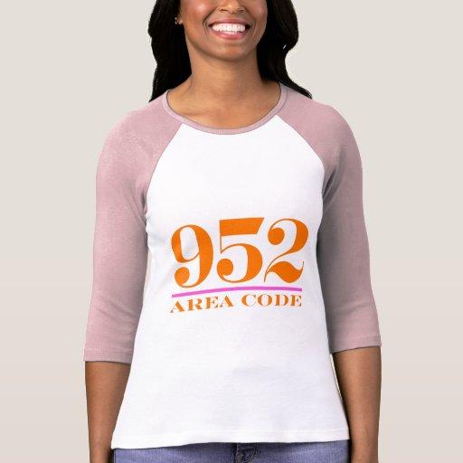 Area Code 952 T Shirt