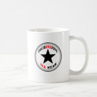 Area Code All Star - 415 San Francisco (black star Coffee Mug