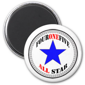 Area Code All Star - 415 San Francisco (new design 2 Inch Round Magnet
