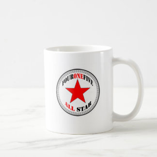 Area Code All Star - 415 San Francisco (red star) Coffee Mug