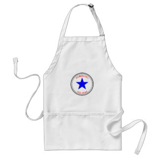 Area Code All Star - 415 San Francisco (red white Adult Apron