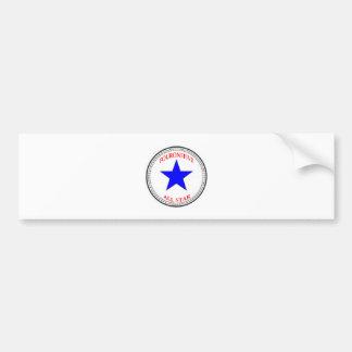 Area Code All Star - 415 San Francisco (red white Car Bumper Sticker