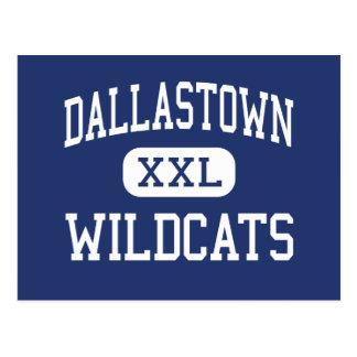 Área Dallastown de los gatos monteses de Postal