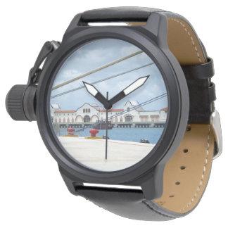 Área de embarque de Cozumel Reloj De Mano