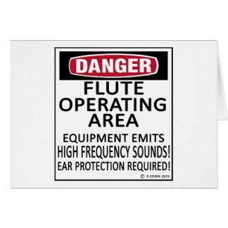 Área de funcionamiento de la flauta felicitacion
