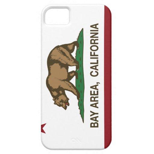 Área de la bahía de la república de California iPhone 5 Coberturas