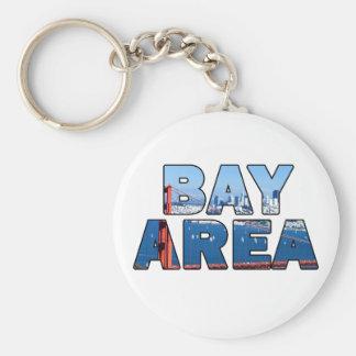 Área de la Bahía de San Francisco 015 Llavero