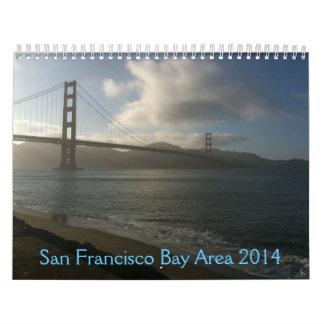 Área de la Bahía de San Francisco 2014 Calendarios De Pared