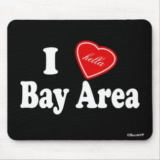 Área de la bahía del amor I (de Hella) Alfombrilla De Ratón