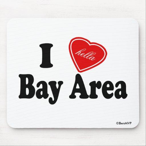 Área de la bahía del amor I (de Hella) Tapete De Ratones