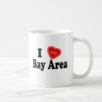Área de la bahía del amor I (de Hella) Tazas De Café
