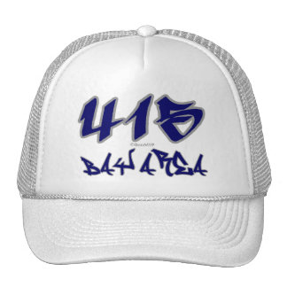 Área de la bahía del representante (415) gorras de camionero