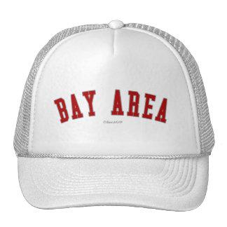 Área de la bahía gorras de camionero