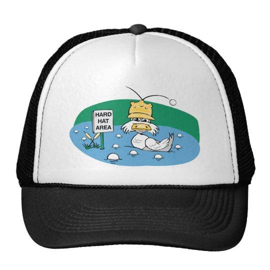 Área del casco gorra