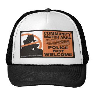 Área del reloj de la comunidad gorras