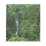 Área del volcán de Costa Rica, Arenal, puentes de  Libretas Para Notas