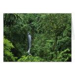 Área del volcán de Costa Rica, Arenal, puentes de  Tarjeta De Felicitación