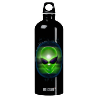 Área extranjera 51 botella de agua