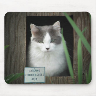 Área limitada del acceso tapete de ratón
