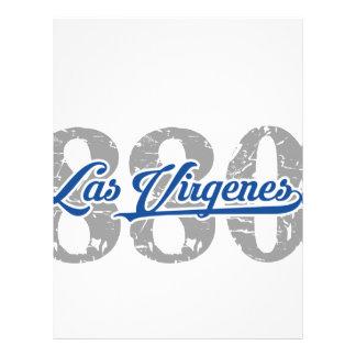 Area / Prefix Las Virgenes Letterhead