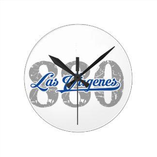 Area / Prefix Las Virgenes Round Clock