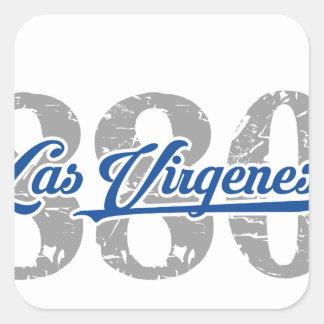 Area / Prefix Las Virgenes Square Sticker