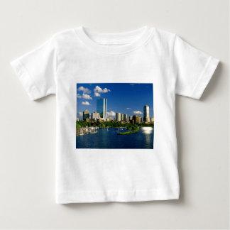 Área trasera de la bahía de Boston T-shirt