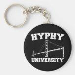 Área yay de la universidad de Hyphy Llaveros Personalizados