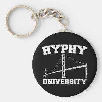 Área yay de la universidad de Hyphy Llavero Redondo Tipo Pin