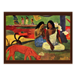 Arearea By Gauguin Paul Best Quality Post Card