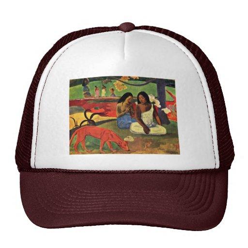 Arearea By Gauguin Paul (Best Quality) Trucker Hat