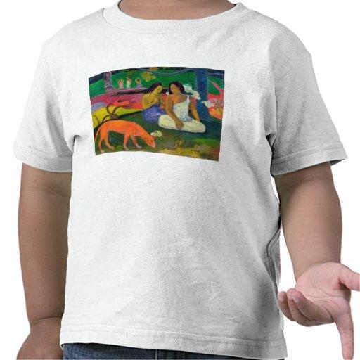 Arearea (el perro rojo), 1892 camiseta