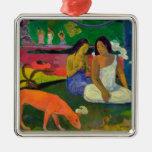 Arearea (el perro rojo), 1892 ornamento para reyes magos