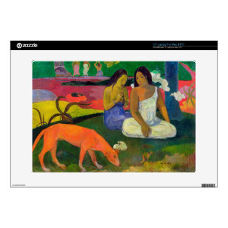 """Arearea (The Red Dog), 1892 15"""" Laptop Decal"""