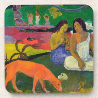 Arearea (The Red Dog), 1892 Beverage Coaster
