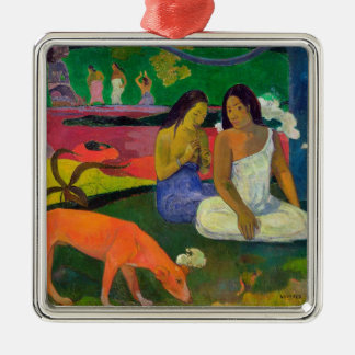 Arearea (The Red Dog), 1892 Christmas Tree Ornaments