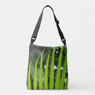 Areca Palm Frond Crossbody Bag