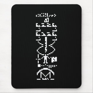 Arecibo Binary Message 1974 Mouse Pad