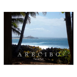 Arecibo Coastline, Puerto Rico Postcard