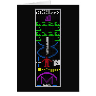 Arecibo Message Greeting Cards
