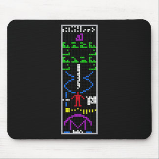 Arecibo Message Mouse Pad