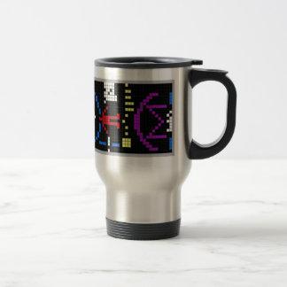 Arecibo Message Travel Mug