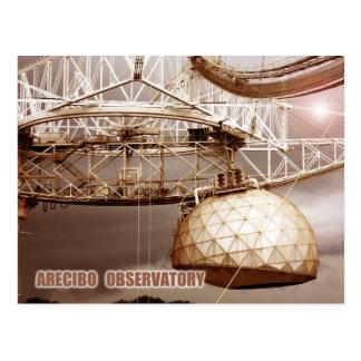 Arecibo Observatory, Puerto Rico Postcard