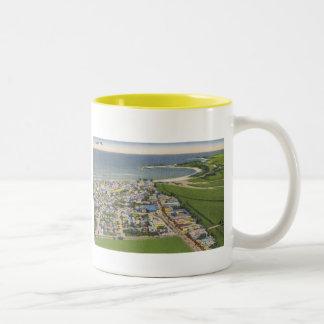 Arecibo Puerto Rico linen postcard Mug